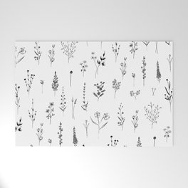 Wildflowers Welcome Mat