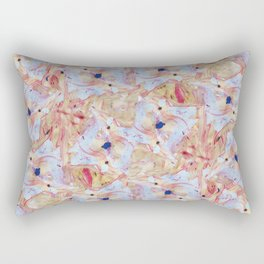 Summer Blossoms - YoungEun Kwon  Rectangular Pillow