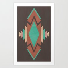 The Navajo Art Print
