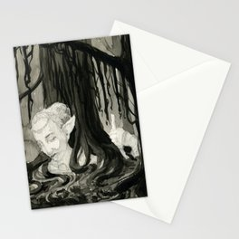 Lost in the Elfin Woods Stationery Cards