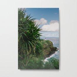 Kilauea Lighthouse Kauai Hawaii | Tropical Beach Nature Ocean Coastal Travel Photography Print Metal Print