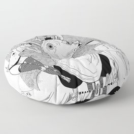 Nasty things Floor Pillow