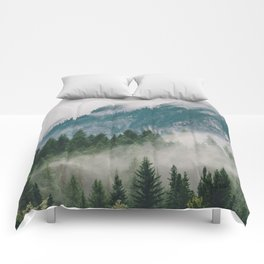 Vancouver Fog Comforters