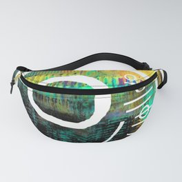 Brane and circle Fanny Pack