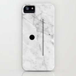 Marble Fun iPhone Case