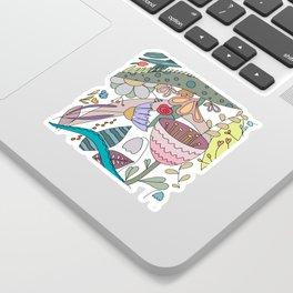 Fantasy Garden Sticker