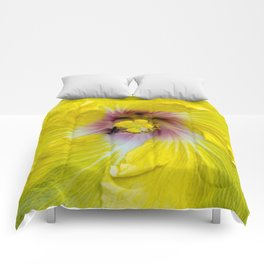 Yellow Hibiscus 17 5799 Comforters