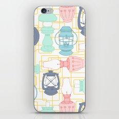Kerosene Lamps iPhone & iPod Skin
