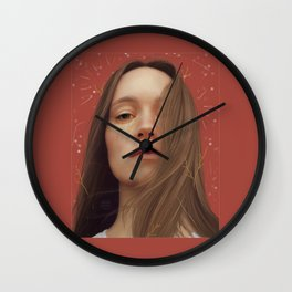 DON'T FEEL LIKE CRYING Wall Clock
