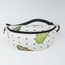 Avocado Polka Dots Fanny Pack