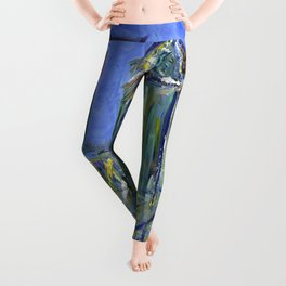 Blue Philadelphia Skyline Leggings