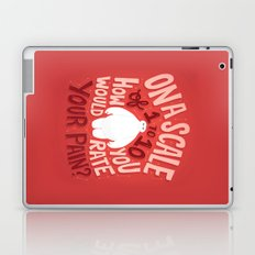 Rate your pain Laptop & iPad Skin