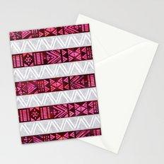 Tribal America {STRIPES} Stationery Cards