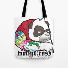 Cranky Panda Tote Bag