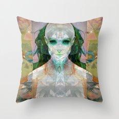 machina ex femina Throw Pillow