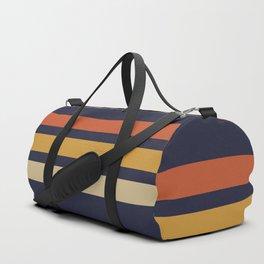 Vintage Retro Stripes Sporttaschen