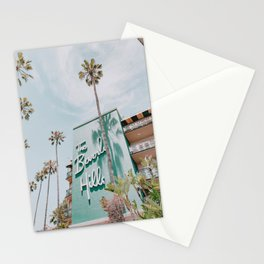 beverly hills / los angeles, california Stationery Cards
