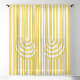 U, Sheer Curtain