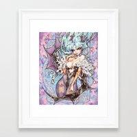 barachan Framed Art Prints featuring shadow by barachan
