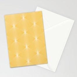 Geometric Orb Pattern VIII Stationery Cards