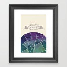 Imaginable Framed Art Print