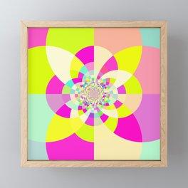 Bright & Pastel Kaleidoscope Framed Mini Art Print