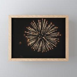 Fireworks Framed Mini Art Print