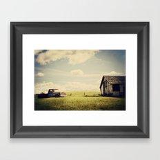 Farmhand Framed Art Print