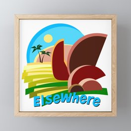 Tropical Elsewhere Framed Mini Art Print