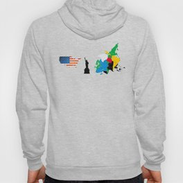 only the USA Hoody