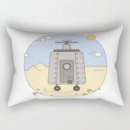 Pepelats. Russian science fiction. Rectangular Pillow