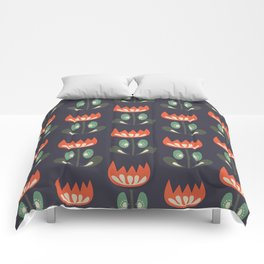 Scandinavian Wildflowers Comforters