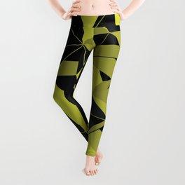 3D Futuristic GEO V Leggings