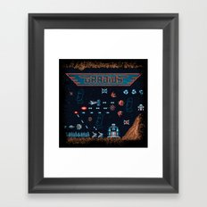 Grady Us Framed Art Print