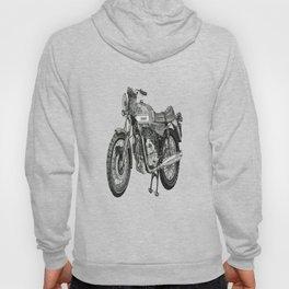 Stippled Motorbike  Hoody