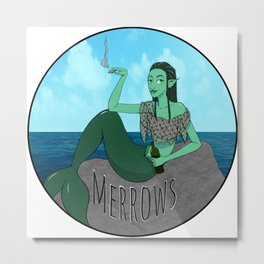 Merrows (Color) Metal Print