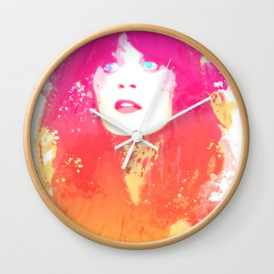 Zooey Deschanel Wall Clock