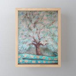 Tree & Snake Framed Mini Art Print