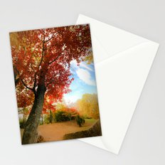 Autumn Tree Scene Stationery Cards