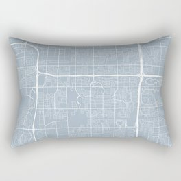 Tempe Map, USA - Slate Rectangular Pillow