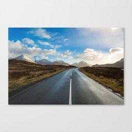 Road of Skye Canvas Print