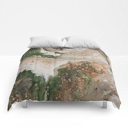 Kirsten Paint Pour Comforters