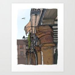 Capital Art Print