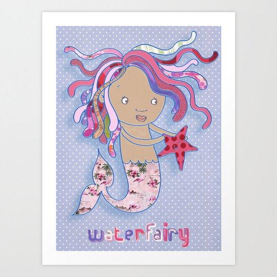Water Fairy Mermaid Art Print