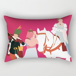 Drei Haselnüsse für Aschenbrödel Rectangular Pillow