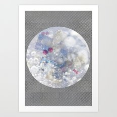 Water Bubble Art Print