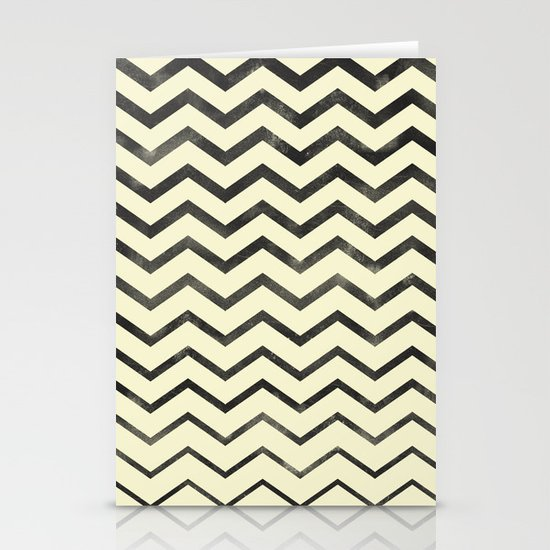 Zag (natural) Stationery Cards