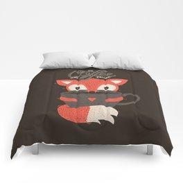 In Coffee We Trust Comforters