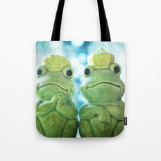 Mr and Mrs Frog Tote Bag
