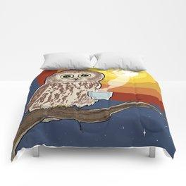 Coffee Owl Comforters